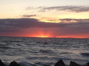 23 Sonnenuntergang bei Mön