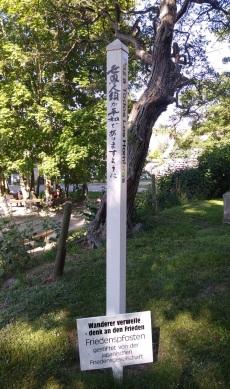 4 Mie Japanische FriedensStele Kloster Friedhof